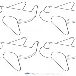 Small Printable Airplanes
