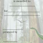 Printable Dinosaur Feet