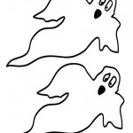 Medium Printable Ghosts