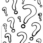 Printable Question Marks