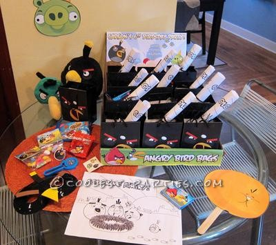 Angry Bird Party Favors