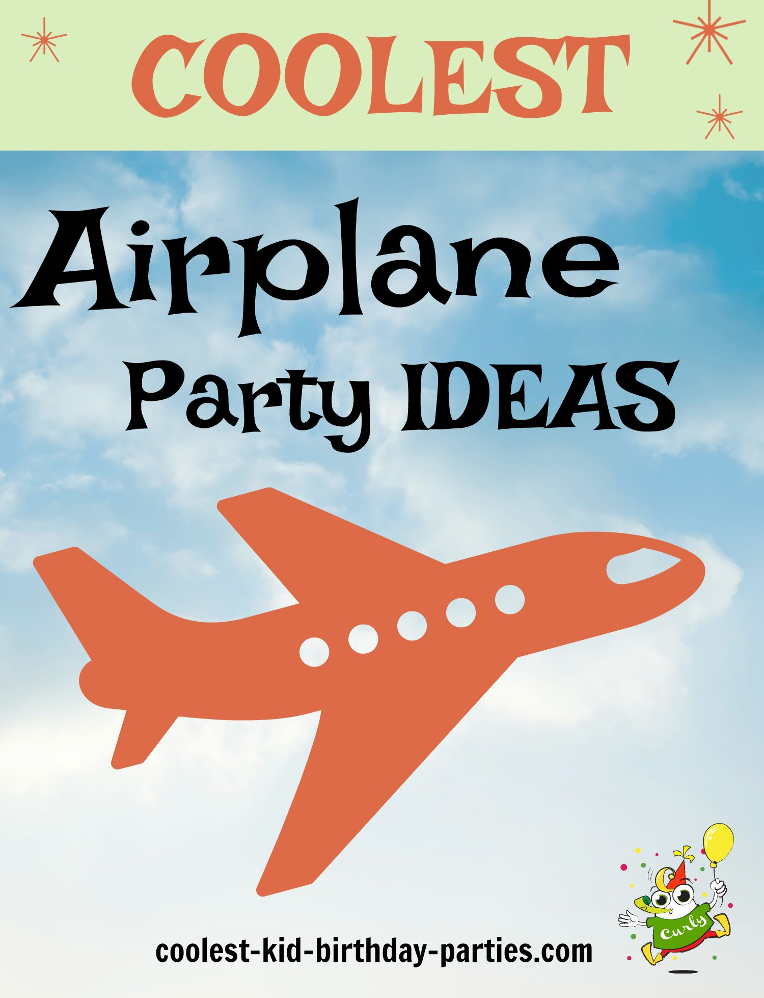 Coolest Airplane Birthday Party