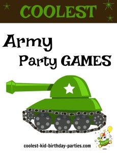 Army Party Games