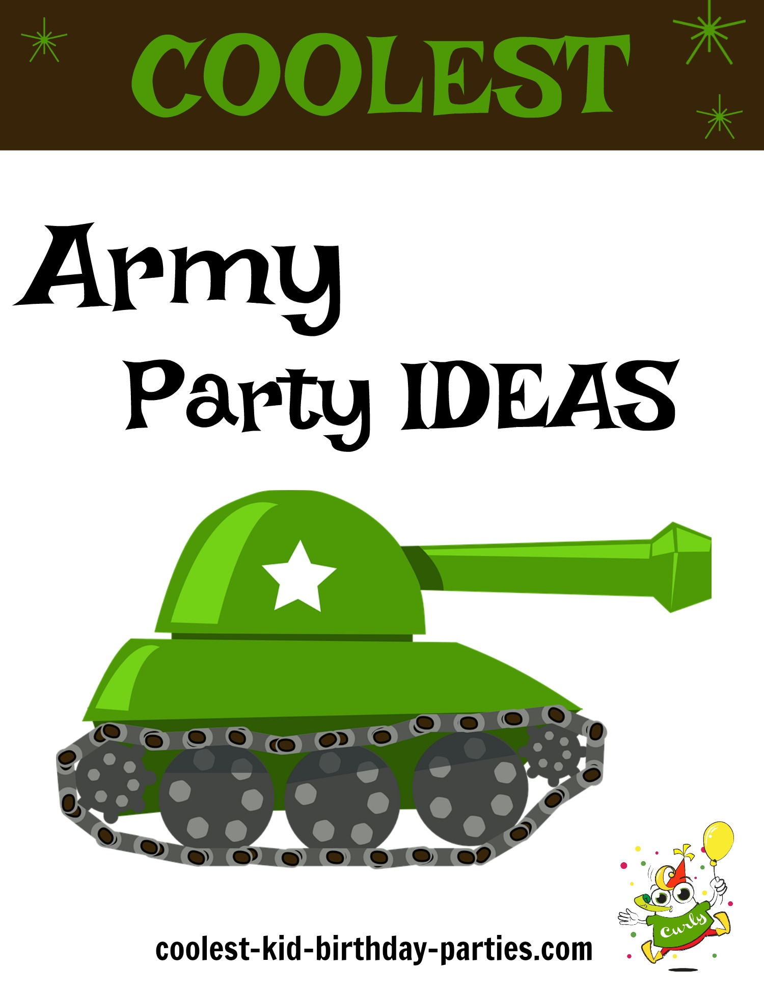graphic regarding Free Printable Left Right Birthday Game titled Coolest Armed service Concept Occasion Plans Coolest Child Birthday Events