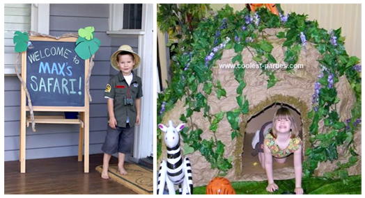 Coolest Safari Party Ideas