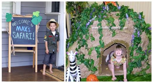 Coolest Safari Party Ideas