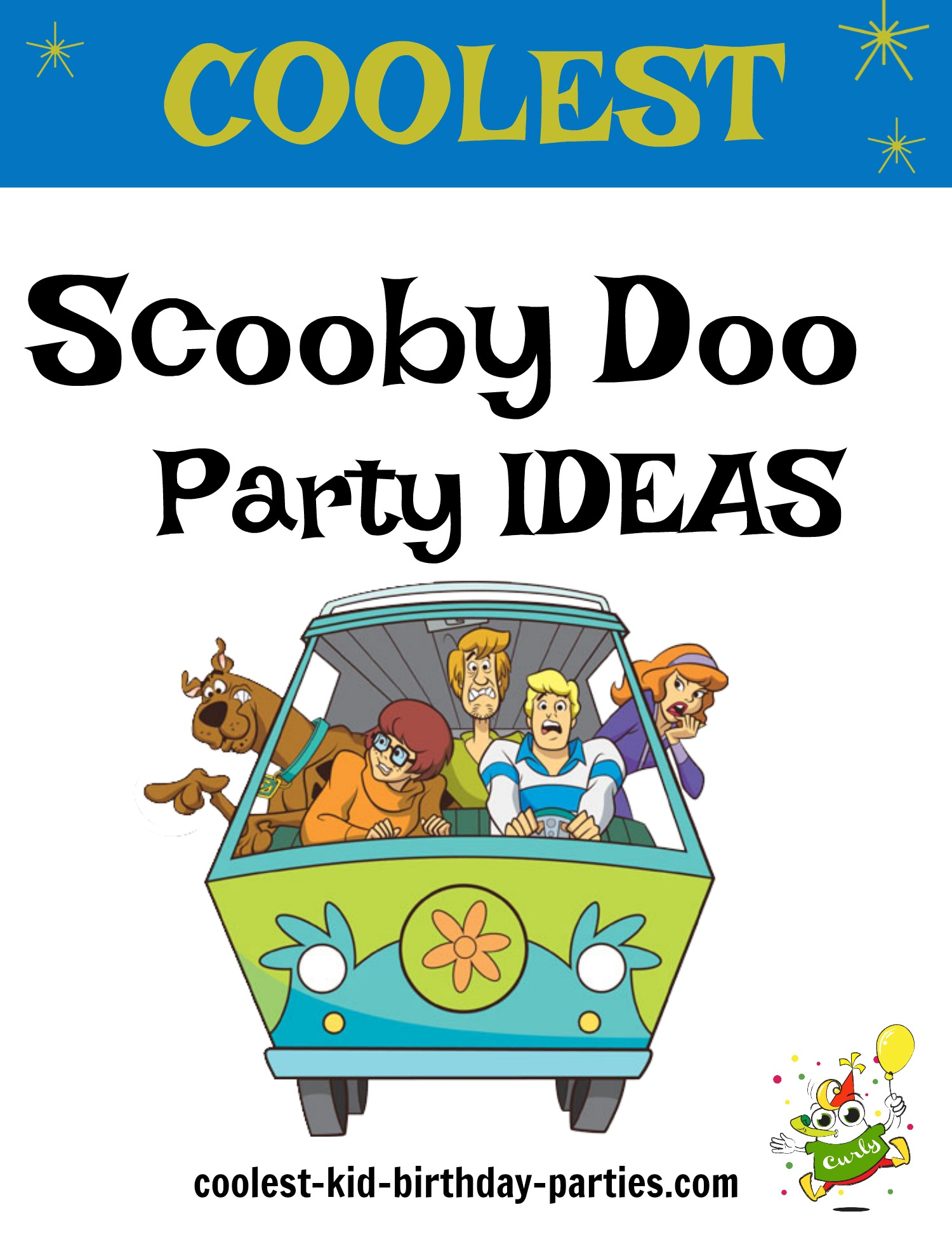57accb79a Coolest Scooby Doo Birthday Party Ideas | Coolest Kid Birthday Parties