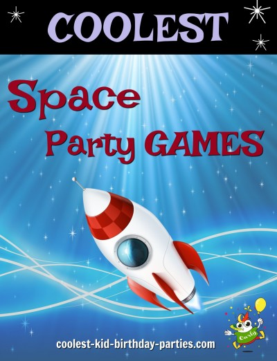 Space Child Party Games