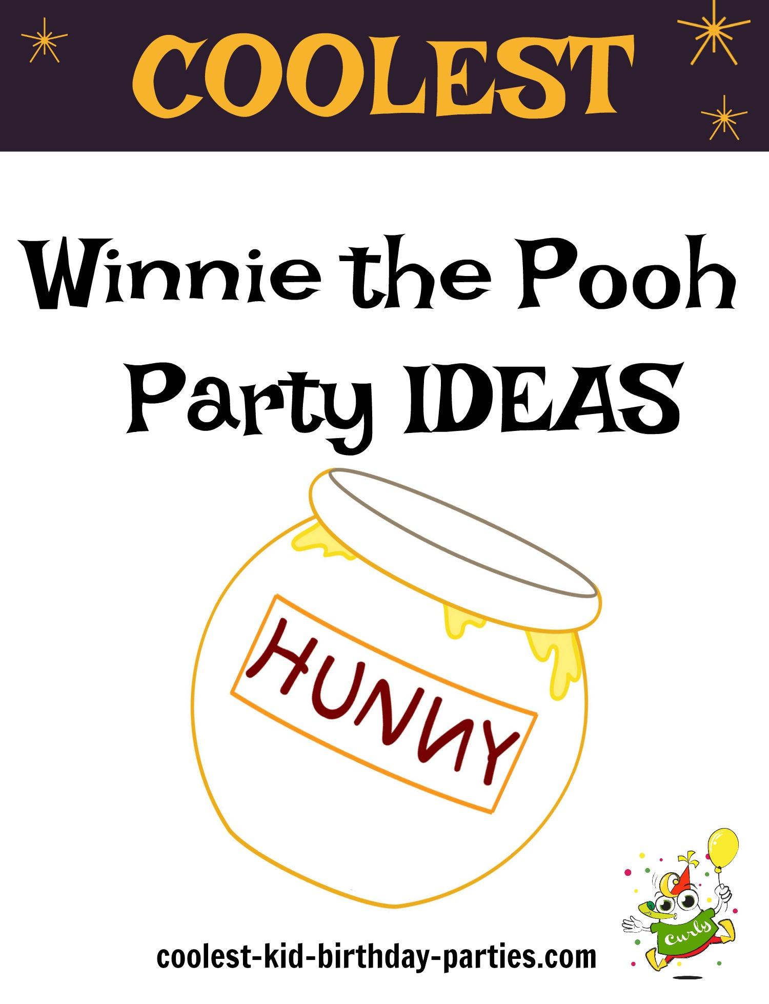 Coolest Winnie the Pooh Birthday Ideas