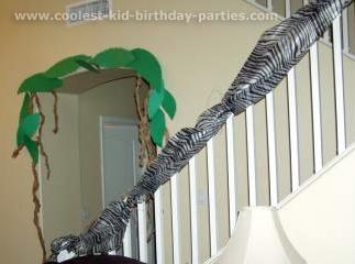 Rikelle's Animal Safari Birthday Party Tale