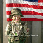 Coolest Army Birthday Party Ideas and Photos