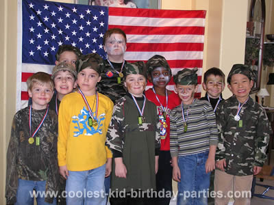 Coolest Army Birthday Party Ideas and Photos for Kids