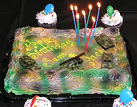 Army Party Cake