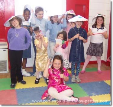 Asian theme party favors