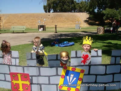 Coolest Castle Birthday Party Ideas and Photos