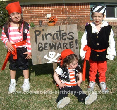 Margaret's Pirate Theme Party Tale