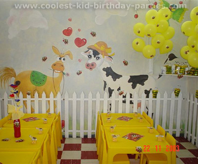 Linda's Bumble Bee Party Tale