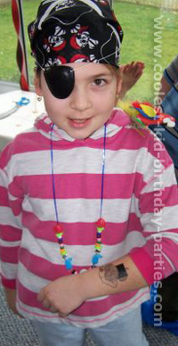 Mona's Pirate Theme Party Tale