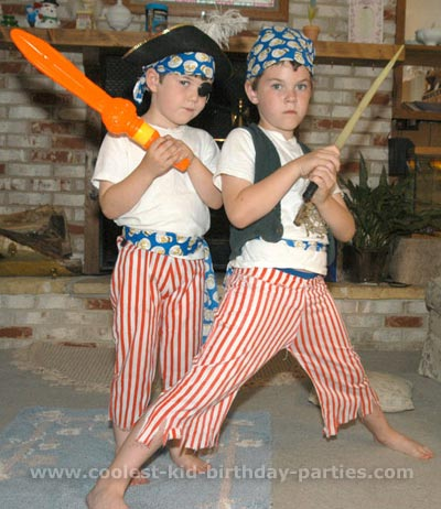 Coolest Childrens Birthday Party Ideas and Photos for Pirate Theme