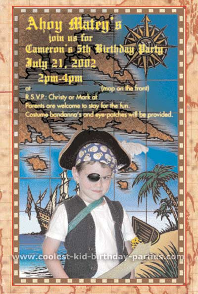 Christy's Pirate Childrens Birthday Party Ideas