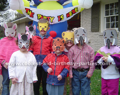 Allyson's Circus Theme Party Tale
