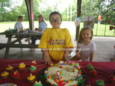 Sandra's Circus Theme Party Tale