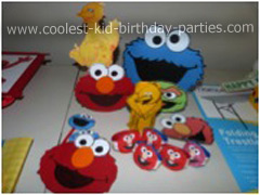 Coolest 1st Birthday Sesame Street Party for Nikash