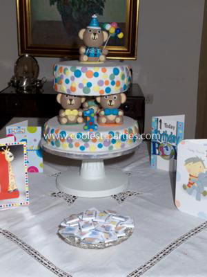Coolest 1st Birthday Teddy Bear Party