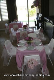 Coolest 4 year old Princess Tea Party