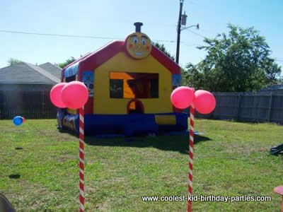 coolest 4 year old train birthday party