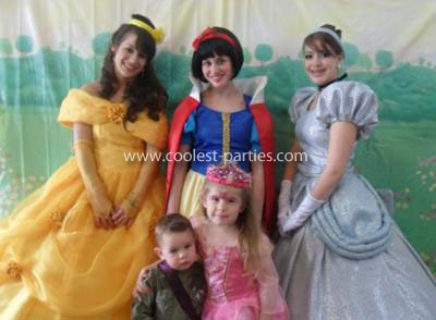 Amy's Princess Party Tale