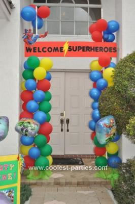Coolest 4th Superhero Birthday Party