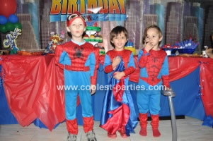 Coolest 4th Superhero Birthday Party