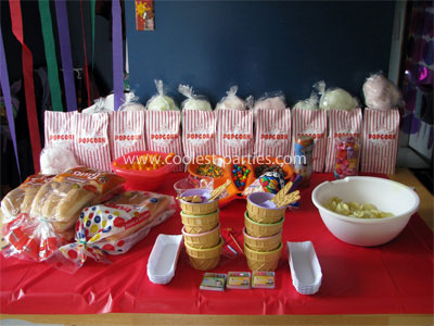 Coolest 7th Birthday Carnival Party