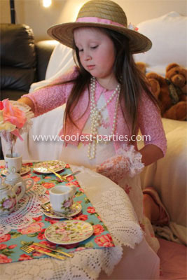Coolest 7th Birthday Tea Party