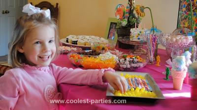 Coolest Candy Land Party for Five Year Old Girl
