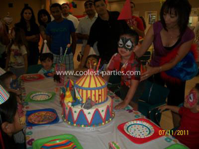 Coolest Carnival Party for a Child's 3rd Birthday