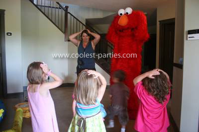 Coolest Elmo Girls 2nd Birthday Party
