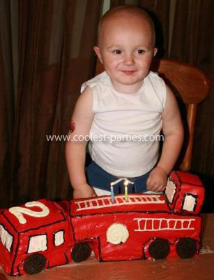 Coolest Firefighter Child Birthday Party