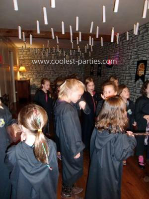 Coolest Harry Potter 6th Girls Birthday Party