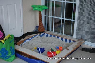 Coolest Hawaiian 2nd Birthday Party