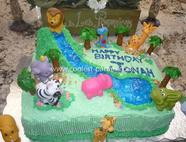 Coolest Jungle Baby 1st Birthday Party