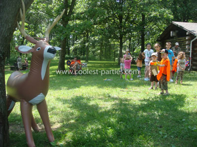 Coolest Kids Hunting Birthday Party Ideas