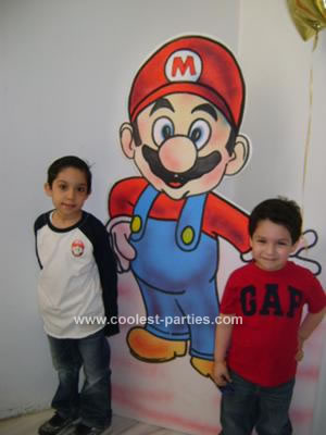 Coolest Mario Brothers Birthday Party