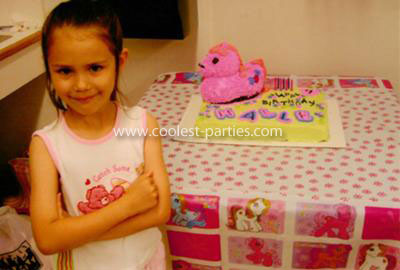Coolest My Little Pony Birthday Theme Party for a 7 Year Old