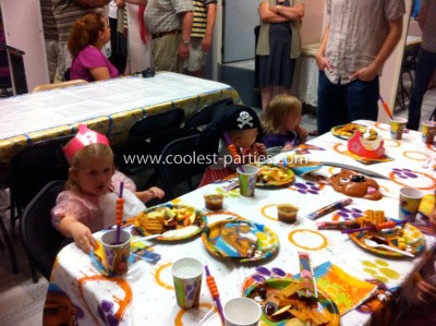 Coolest Pirate Scooby-Doo Fourth Birthday Party