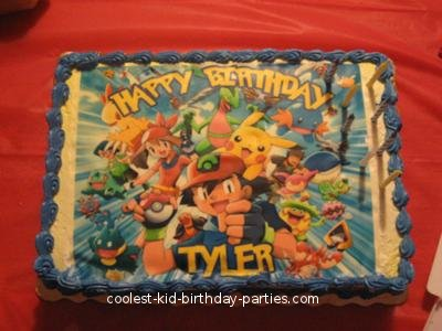Coolest Pokemon 7th Birthday Party