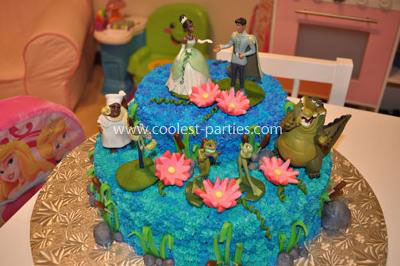 Coolest Princess and the Frog 3rd Birthday Party