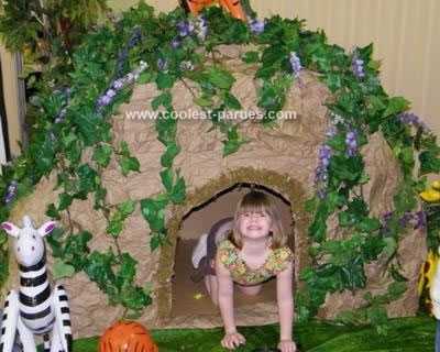 Coolest Safari Theme Party for a 7 Year Old