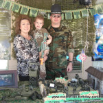 Coolest Soldier Airplane Birthday Party